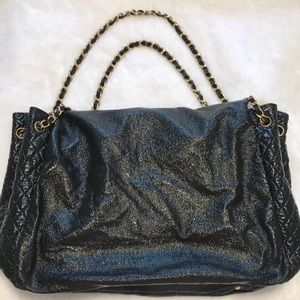 CHANEL Bags - CHANEL patent leather handbag